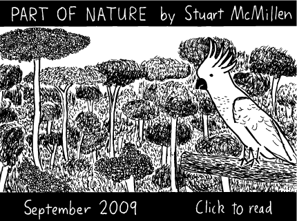 Part of Nature cartoon
