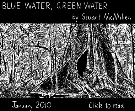 Blue Water, Green Water cartoon