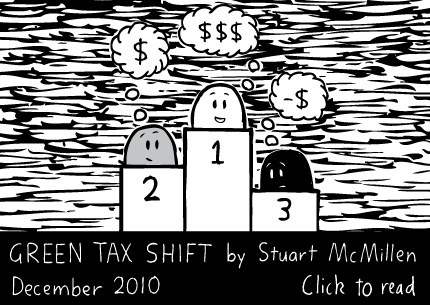 Green Tax Shift cartoon