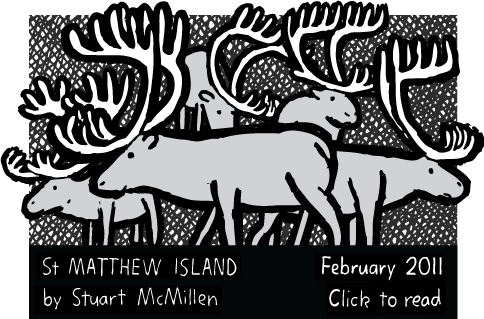 St Matthew Island cartoon