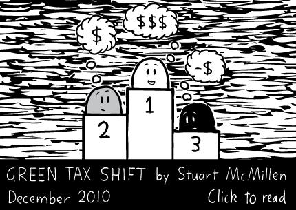 Green Tax Shift cartoon